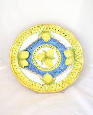 vassoio grande decoro limoni